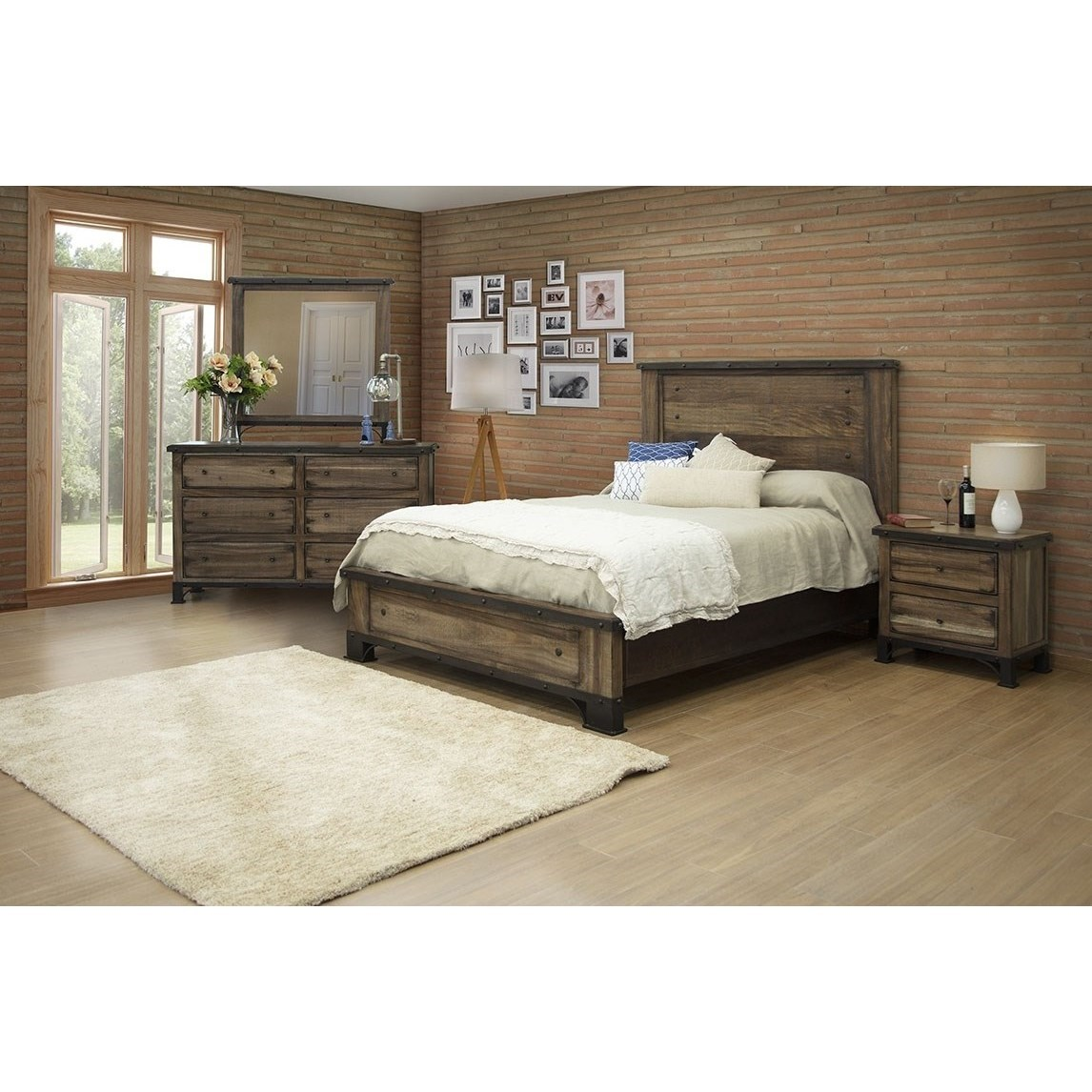 Direct Bedroom Furniture: International Furniture Direct Durango Queen Bedroom Group