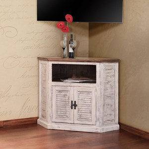 International Furniture Direct Havana Two Door TV Stand