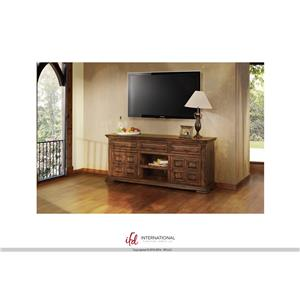 "International Furniture Direct Terra 72"" TV Stand"