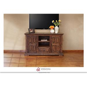 "International Furniture Direct Terra 55"" TV Stand"
