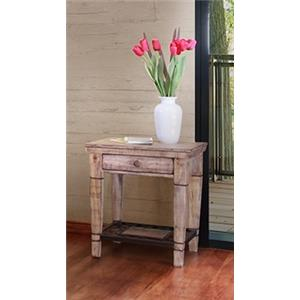 International Furniture Direct Cabo Chairside Table