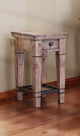 International Furniture Direct Cabo End Table