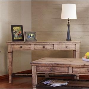 International Furniture Direct Cabo Sofa Table
