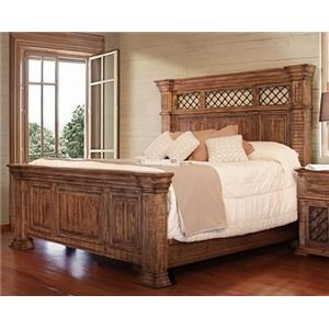 International Furniture Direct IMPERIAL King Bed
