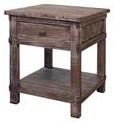 International Furniture Direct San Angelo End Table - Item Number: IFD380END