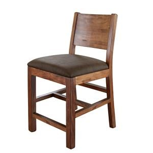 "International Furniture Direct Parota 24"" Bar Stool"