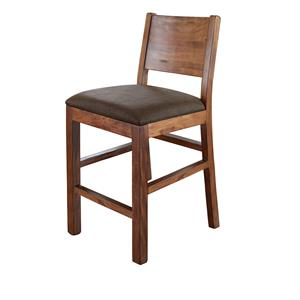 "International Furniture Direct Parota 30"" Barstool"