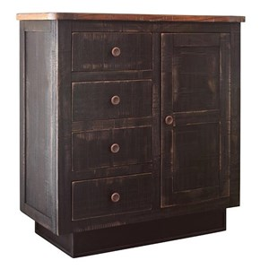 International Furniture Direct Kahlo Accent Console Table