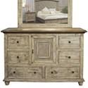International Furniture Direct Laguna Dresser - Item Number: IFD9681DSR
