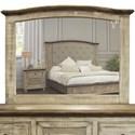 International Furniture Direct Laguna Mirror - Item Number: IFD9681MIR