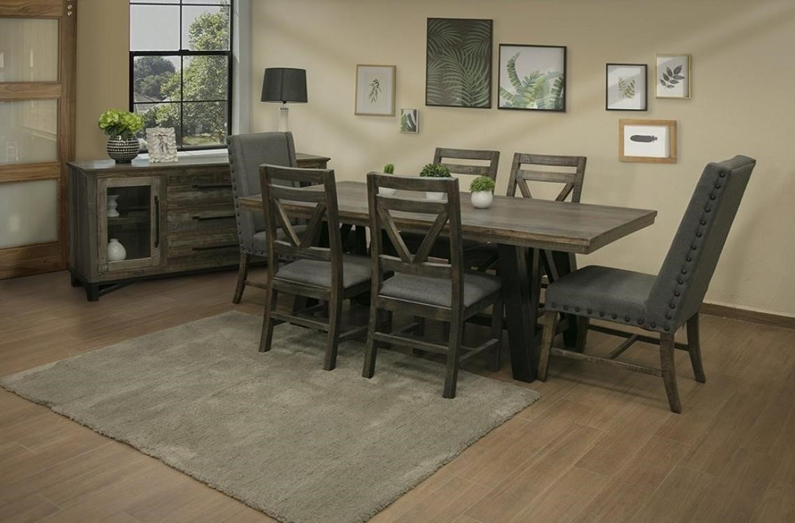 International Furniture Direct Loft Dining Room Group