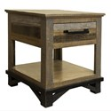 International Furniture Direct Loft End Table with 1 Drawer - Item Number: IFD6441END