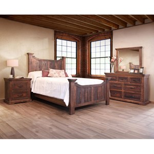 International Furniture Direct Madeira Queen Bedroom Group