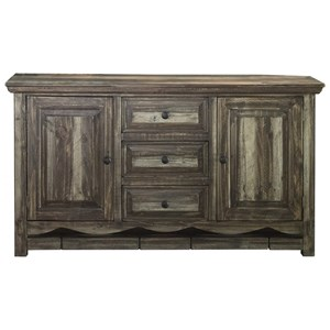 International Furniture Direct Marquez Dining Console