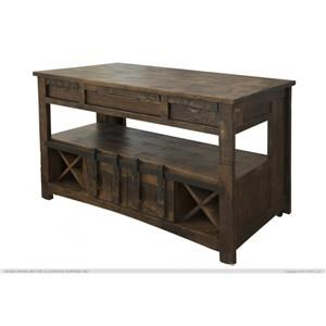 International Furniture Direct Mezcal Kitchen Island