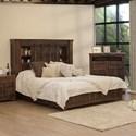 International Furniture Direct Mezcal 5/0 Storage Bed - Item Number: IFD5671HBDQE+PLTQE