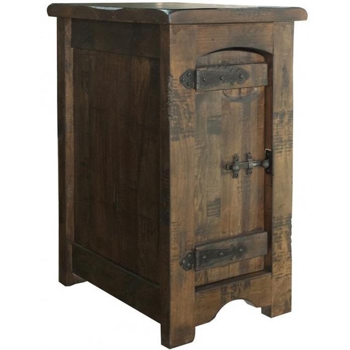 International Furniture Direct Mezcal Rustic Solid Wood 1