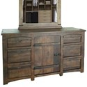International Furniture Direct Mezcal Dresser - Item Number: IFD567DSR