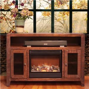 International Furniture Direct Monte Carlo Fireplace TV Stand