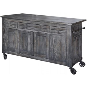 International Furniture Direct Moro Kitchen Island
