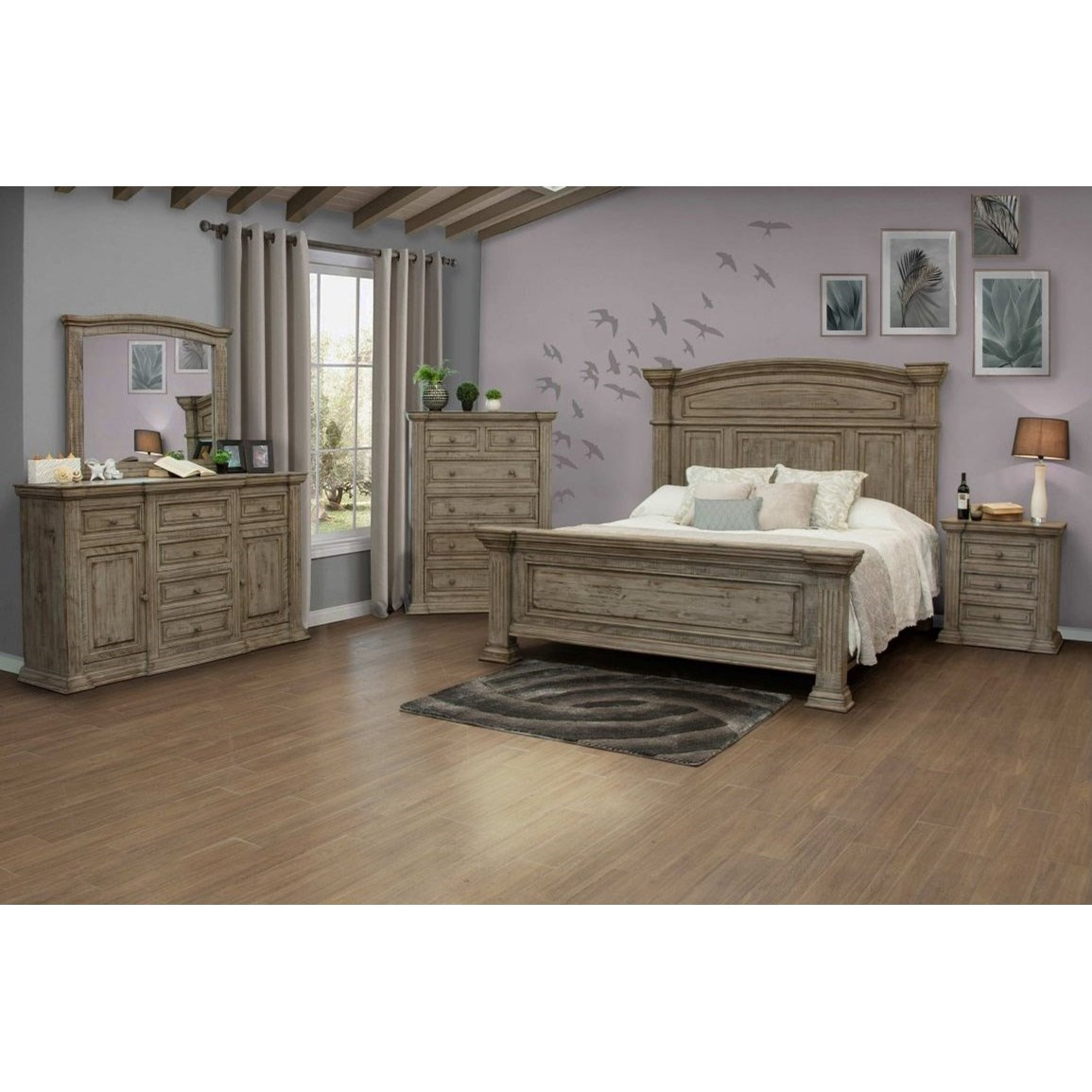 Direct Bedroom Furniture: International Furniture Direct Palace Queen Bedroom Group