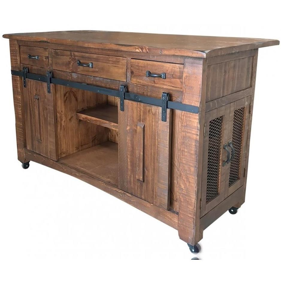 International Furniture Direct Parota Ifd866island