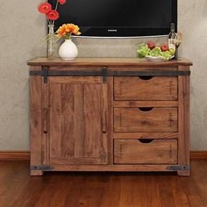 "International Furniture Direct Parota 50"" TV Stand"