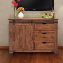 "International Furniture Direct Parota 50"" TV Stand - Item Number: IFD866STAND-50"