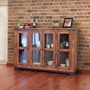 "International Furniture Direct Parota 70"" Console Table"