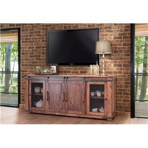 "International Furniture Direct Parota 80"" TV Stand"