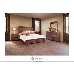 International Furniture Direct Regal 7 Drawer Dresser