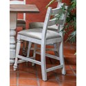 International Furniture Direct Rock Valley Barstool - Item Number: IFD1921BST24