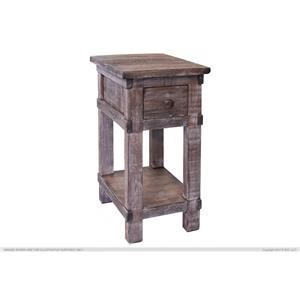 International Furniture Direct San Angelo Chair Side Table