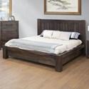 International Furniture Direct San Luis Queen Platform Bed - Item Number: IFD6021HBDQE+PLTQE