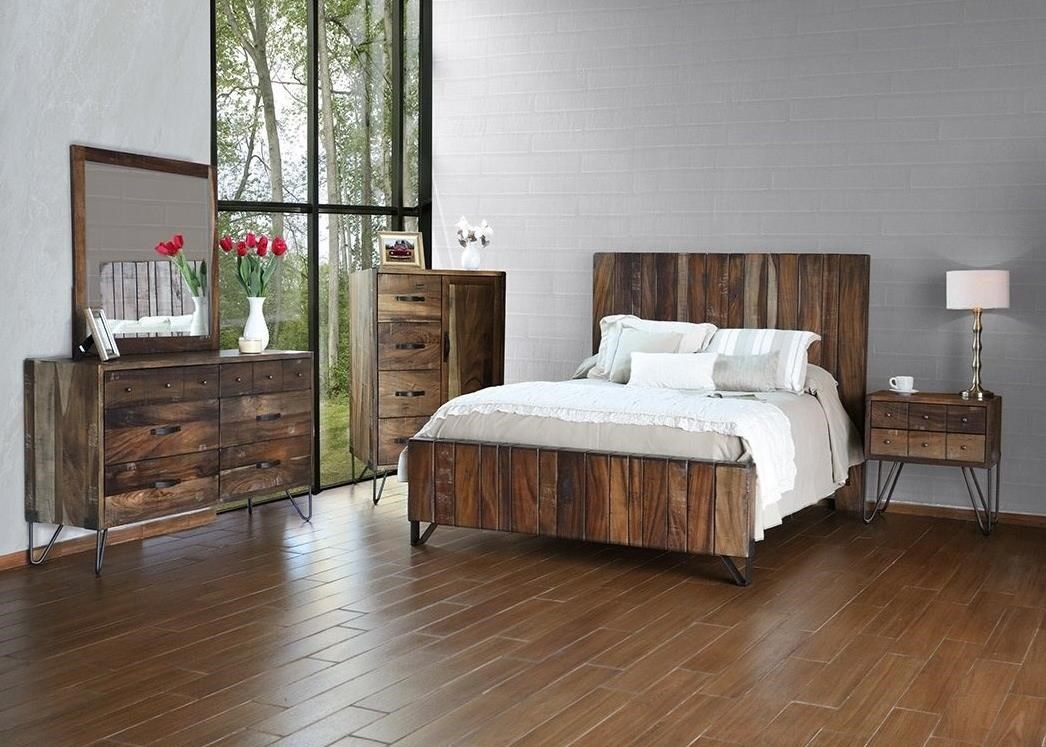 International Furniture Direct Taos Queen Bedroom Group - Item Number: IFD860 Q Bedroom Group 1