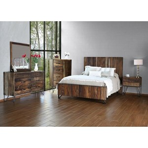 International Furniture Direct Taos Queen Bedroom Group
