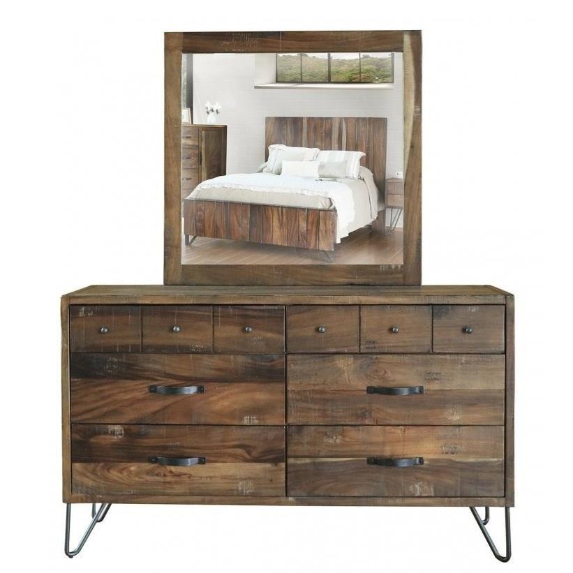 VFM Signature Taos Dresser and Mirror Set - Item Number: IFD860DSR+MIRR
