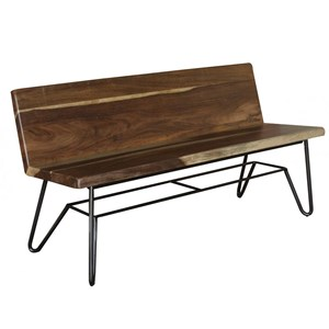 International Furniture Direct Taos Dining Room Bench