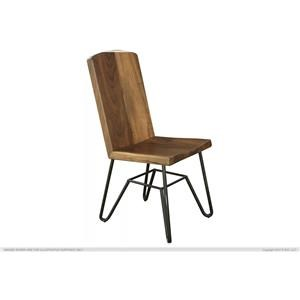 International Furniture Direct TAOS Solid Parota Chair