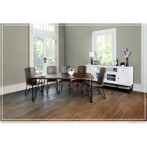 International Furniture Direct TAOS Table