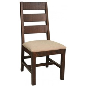 International Furniture Direct Terra Slat Back Side Chair