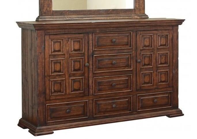 International Furniture Direct Terra Ifd1020dsr Rustic