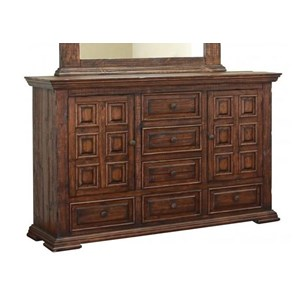 International Furniture Direct Terra Dresser