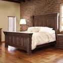 International Furniture Direct Terra California King Panel Bed - Item Number: IFD1020HDBD-EK+FTBD-EK+RAIL-MCK