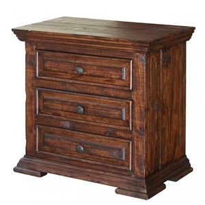International Furniture Direct Terra Nightstand