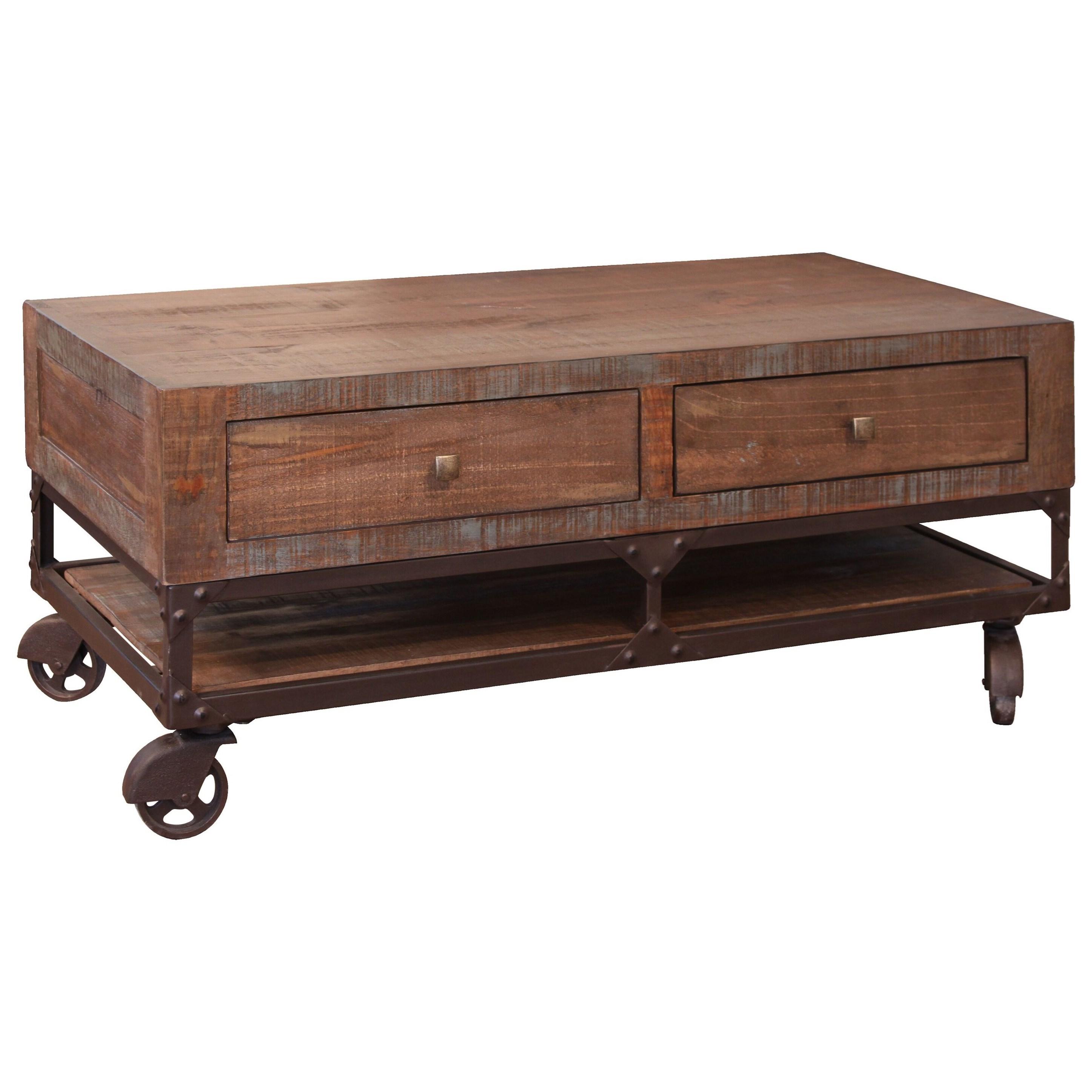 International Furniture Direct Urban Gold Ifd561cktl Rustic