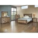 International Furniture Direct Veracruz Queen Bedroom Group - Item Number: 260 Q Bedroom Group