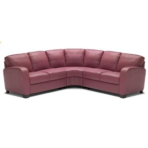 Italsofa I 217 Leather Sectional