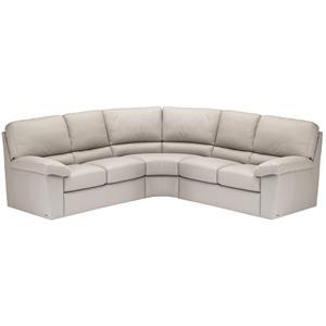 Charmant Italsofa I210 Contemporary Leather Sofa Sectional