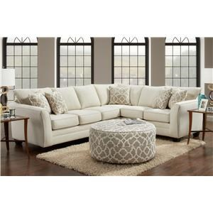 London 2 Piece Sectional
